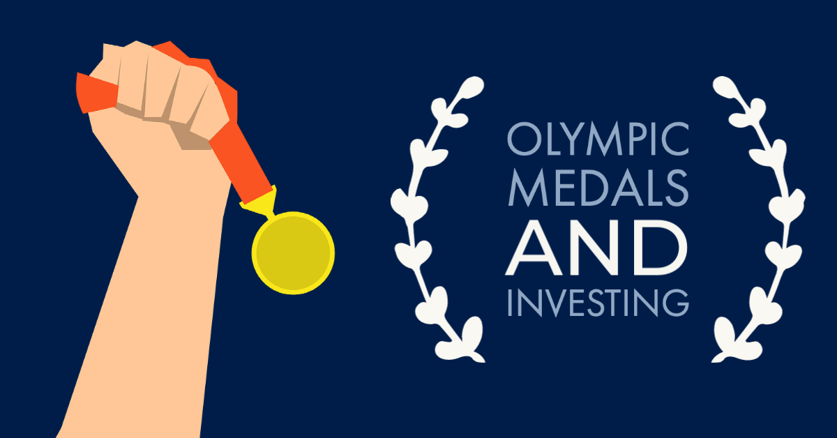 Olympic medals and what they can teach us about investing.